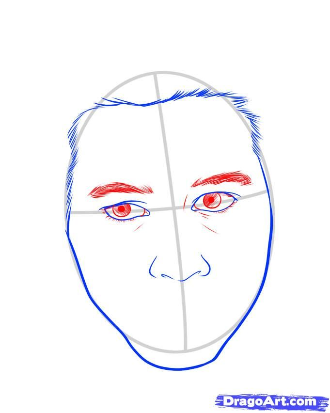 How to draw the sniper with a pencil step by step 5