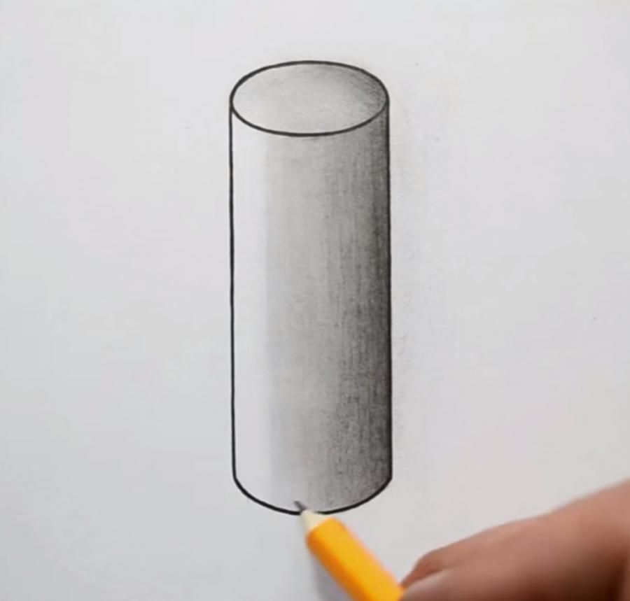How to draw a teapot on paper with a pencil 6