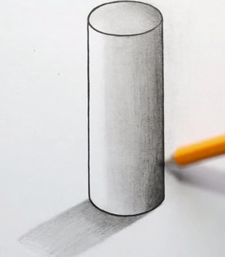 How to draw a teapot on paper with a pencil 7