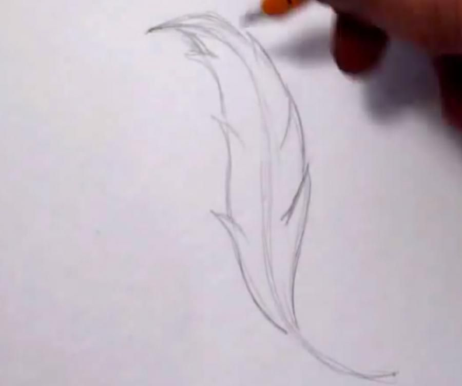 How to draw a swing with a pencil step by step 2