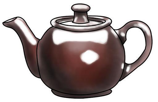 How to draw a teapot on paper with a pencil