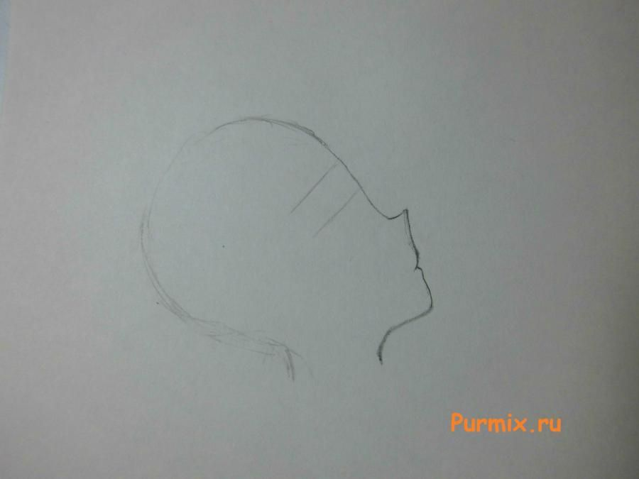 How to learn to draw Ritsu Taynak from K-on! simple pencil 2