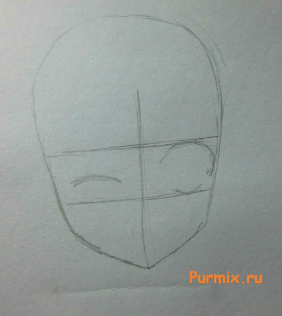 How to draw an emblem of brothers Elrikov from an anime the Steel alchemist 2