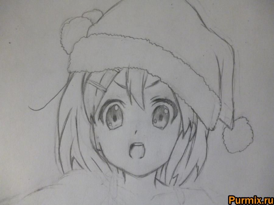How to learn to draw Tsumugi Kotobuki from an anime of K-on! 6