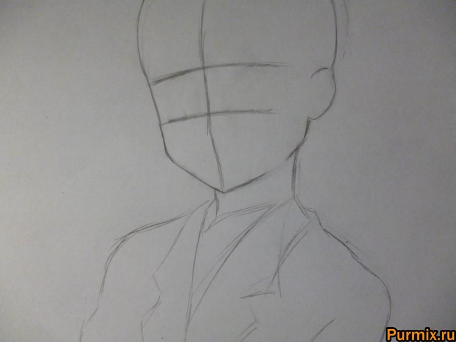 How to draw Tom Kamidzyo with an anime a Certain scientific Reylgan 2