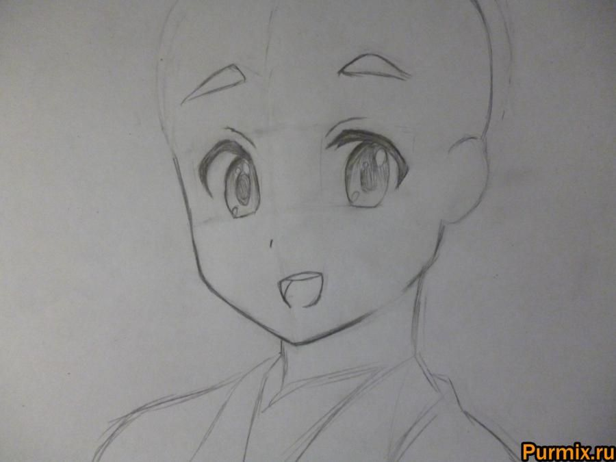 How to draw Tom Kamidzyo with an anime a Certain scientific Reylgan 3