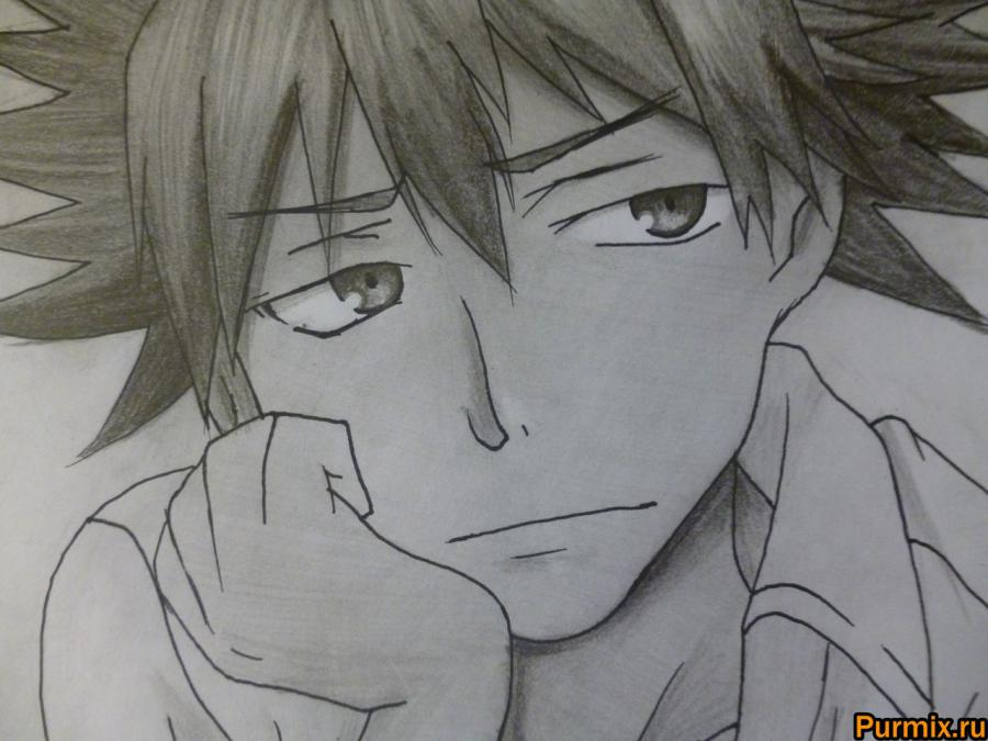 Comme dessiner Mikoto Misaka d'anime un Certain Rejlgan scientifique 9