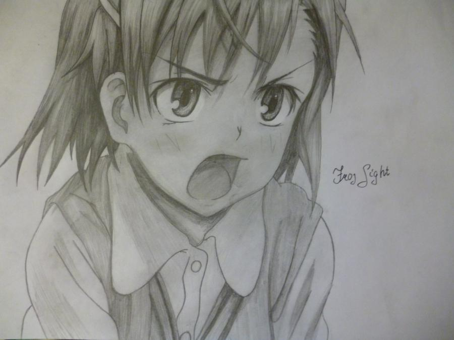 Comme dessiner Mikoto Misaka d'anime un Certain Rejlgan scientifique
