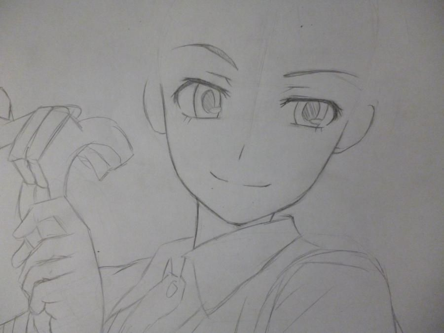 How to draw Sodzhiro Seth from an anime the Ravine the Horizon step by step 3