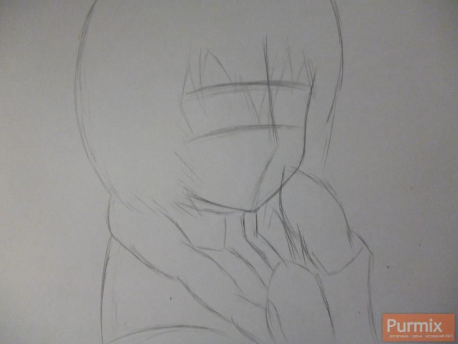 How to draw to Sudzukh Amane from an anime the Matte Gate 2