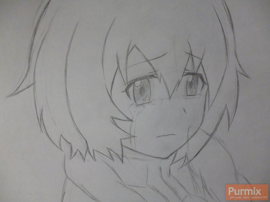 How to draw to Sudzukh Amane from an anime the Matte Gate 4
