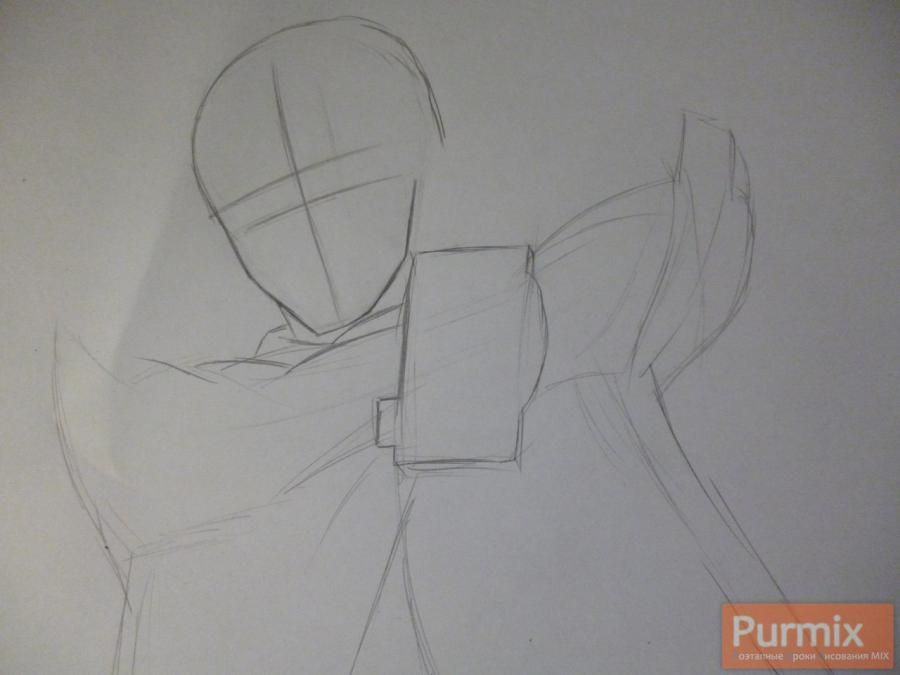 How to draw Itara Hasid from an anime the Matte Gate 2