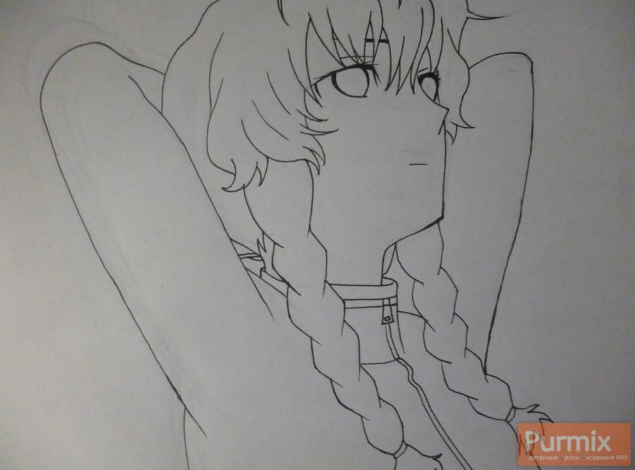 How to draw Mayuri Siin from an anime the Matte Gate 5