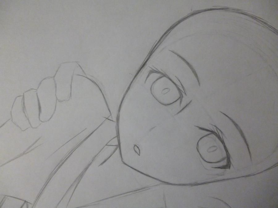 How to draw Minori Kusied from Torador's anime 3
