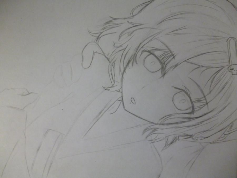 How to draw Minori Kusied from Torador's anime 4