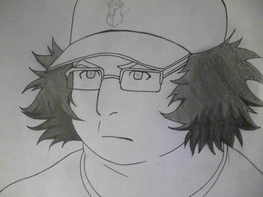 How to draw Yoshino Takigava from an anime the Storm of losses with a pencil 7