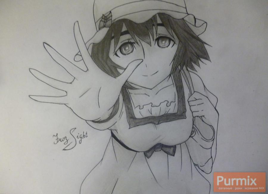 How to draw Mayuri Siin from an anime the Matte Gate