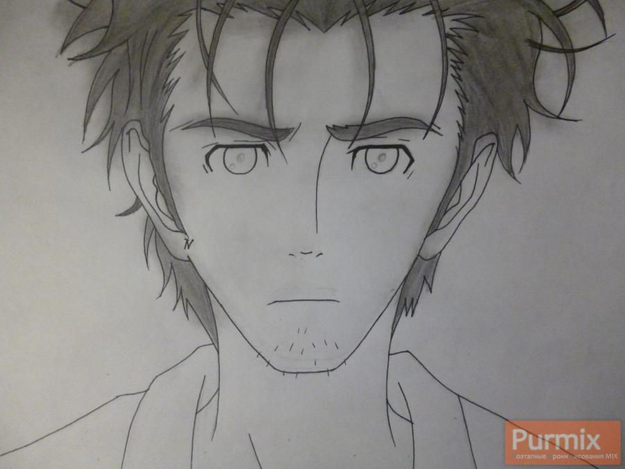 How to draw Hakadze Kusaribe from an anime the Storm of losses 5