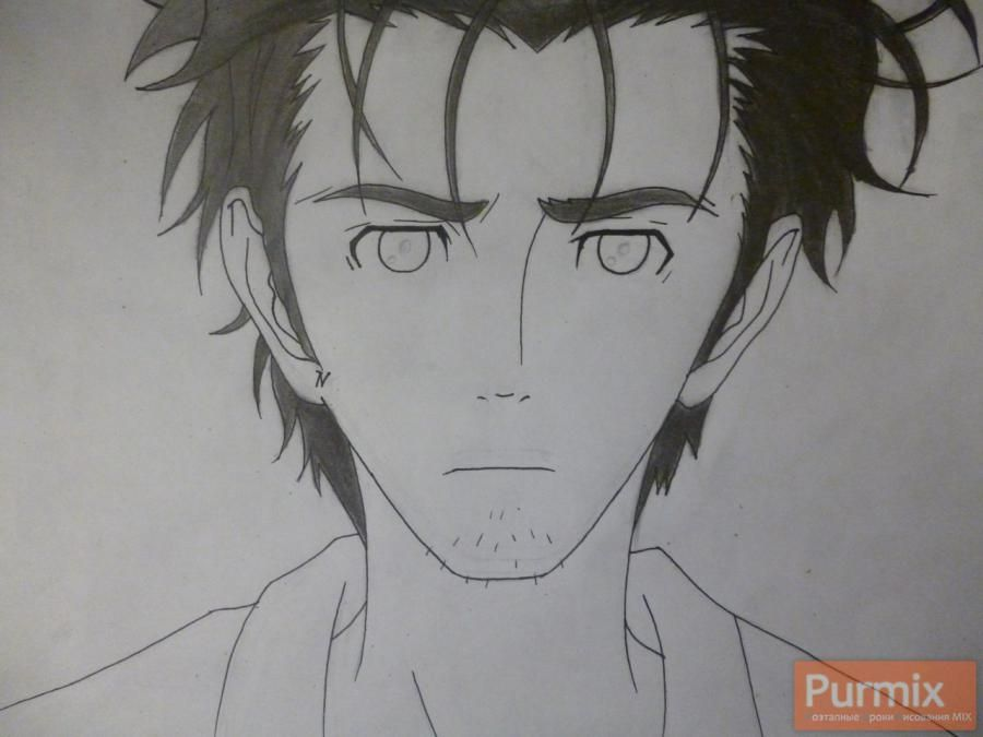 How to draw Hakadze Kusaribe from an anime the Storm of losses 6
