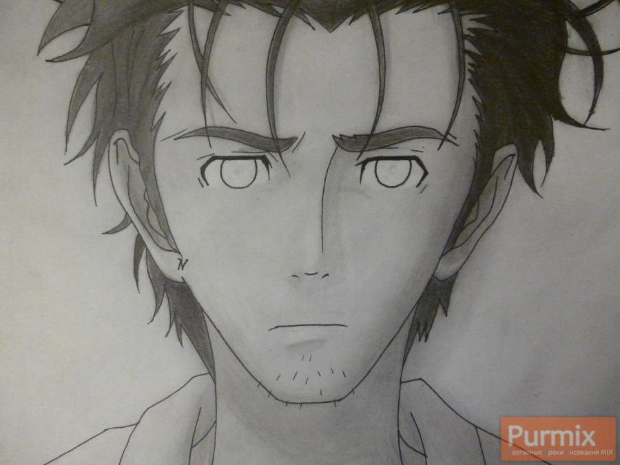 How to draw Hakadze Kusaribe from an anime the Storm of losses 8
