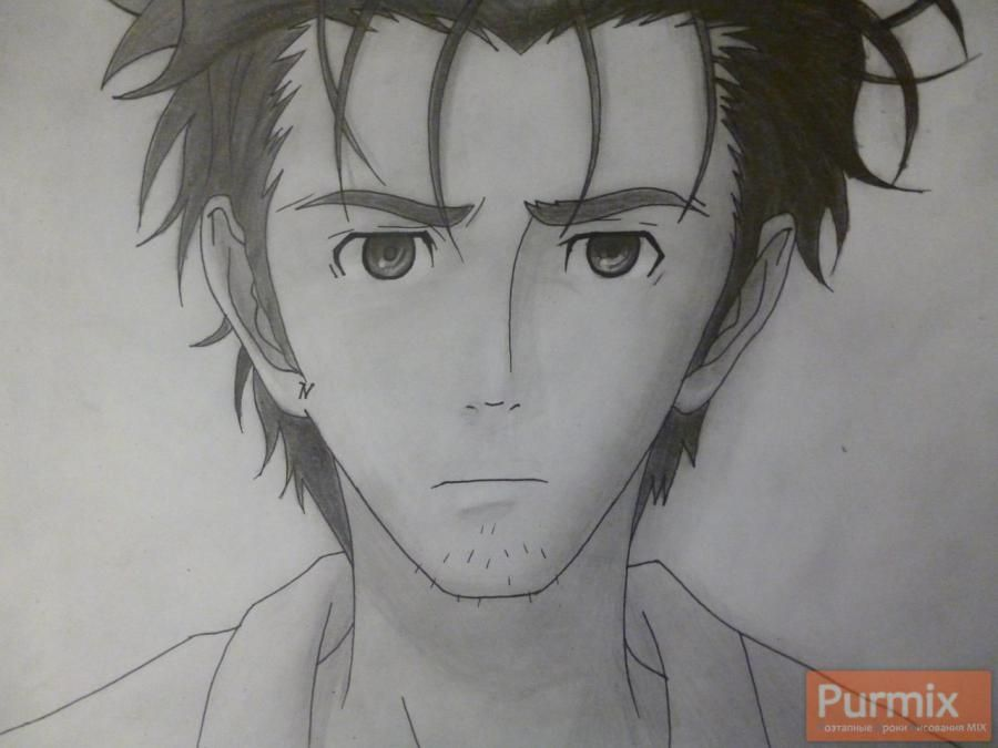 How to draw Hakadze Kusaribe from an anime the Storm of losses 9