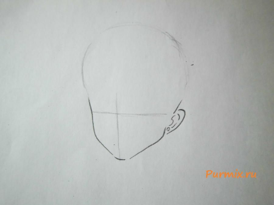 How to draw Amy Cavassima from Torador's anime with a pencil 2