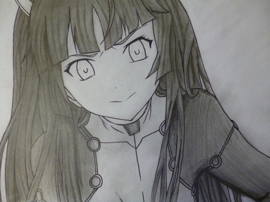 How to draw with Tsubomi Kido's pencil from an anime the Illusive project 11