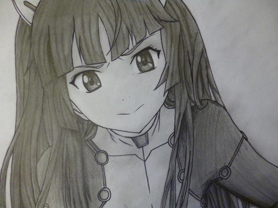How to draw with Tsubomi Kido's pencil from an anime the Illusive project 12