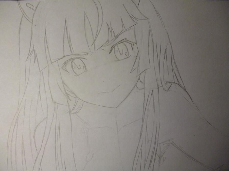 How to draw with Tsubomi Kido's pencil from an anime the Illusive project 4