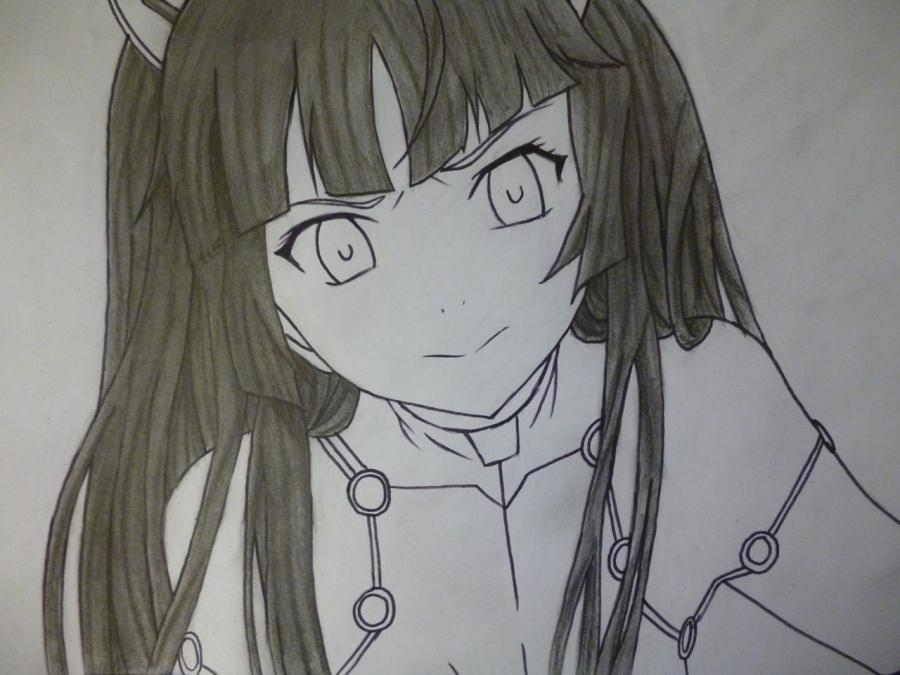 How to draw with Tsubomi Kido's pencil from an anime the Illusive project 9