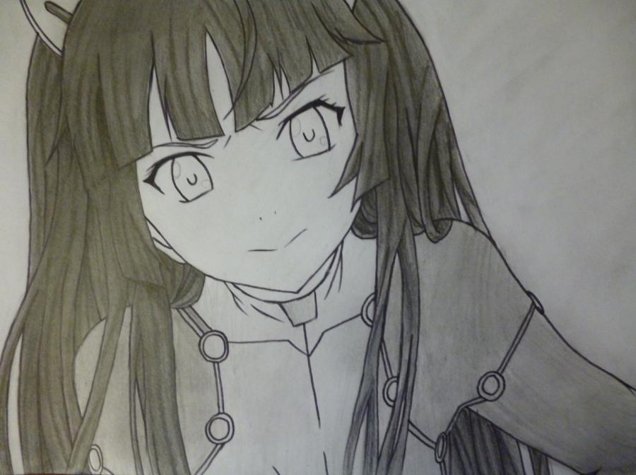 How to draw with Tsubomi Kido's pencil from an anime the Illusive project 10