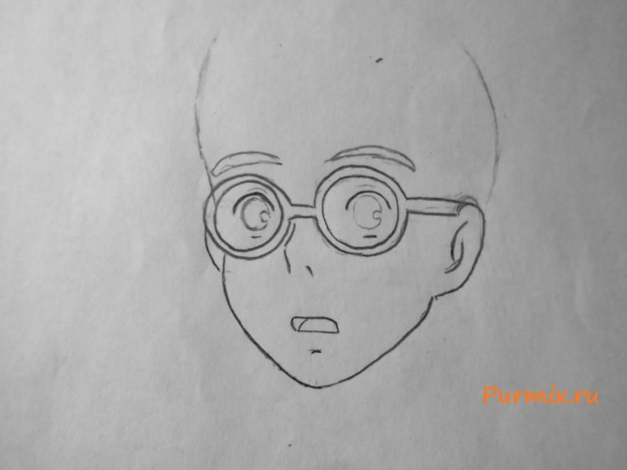 How to draw Kosk Seto from an anime the Illusive project step by step 3