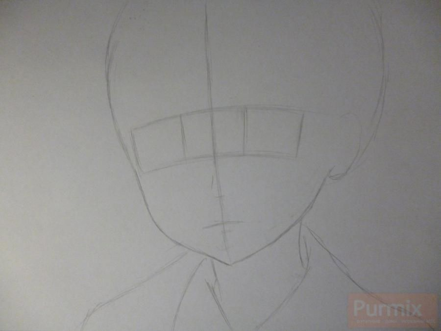 How to draw Shintaro Kisaragi from an anime the Illusive project 2