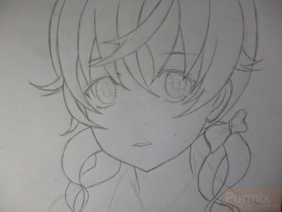 How to draw Shintaro Kisaragi from an anime the Illusive project 4