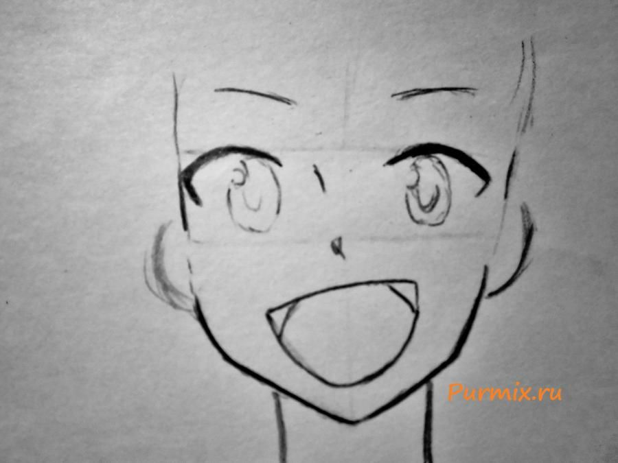 How to draw Konokhi in Neko's style from an anime the Illusive project 3