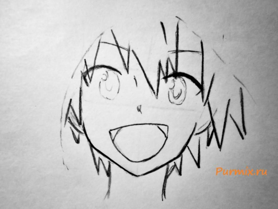 How to draw Konokhi in Neko's style from an anime the Illusive project 4