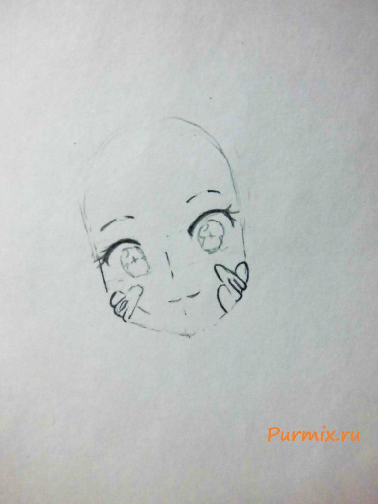 How to draw Momo Kisaragi from an anime the Illusive project 3