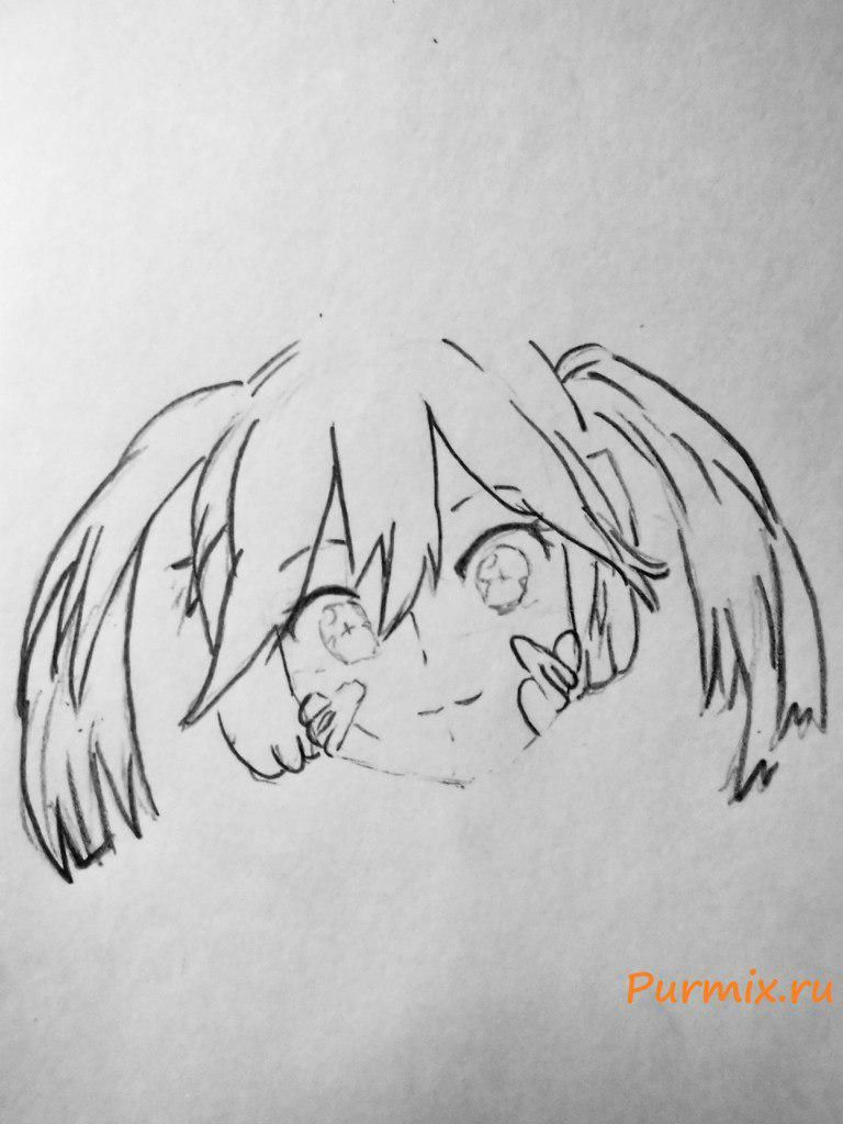 How to draw Momo Kisaragi from an anime the Illusive project 4