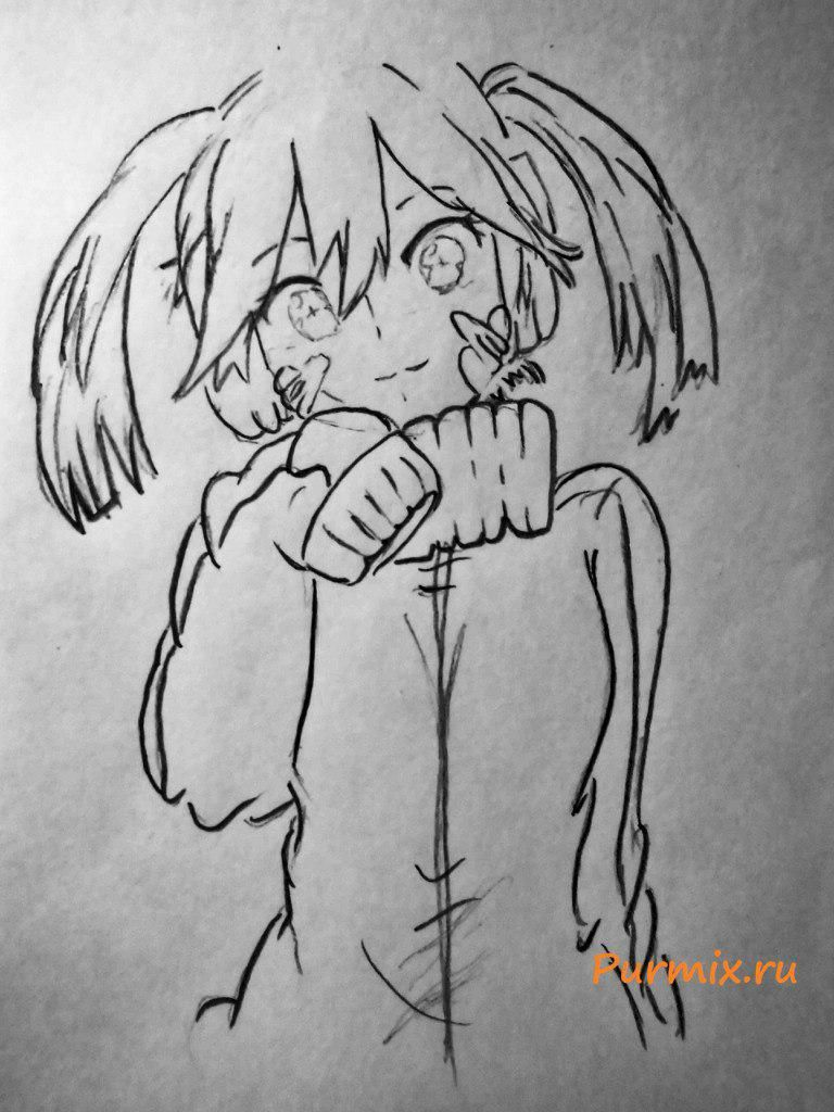 How to draw Momo Kisaragi from an anime the Illusive project 5