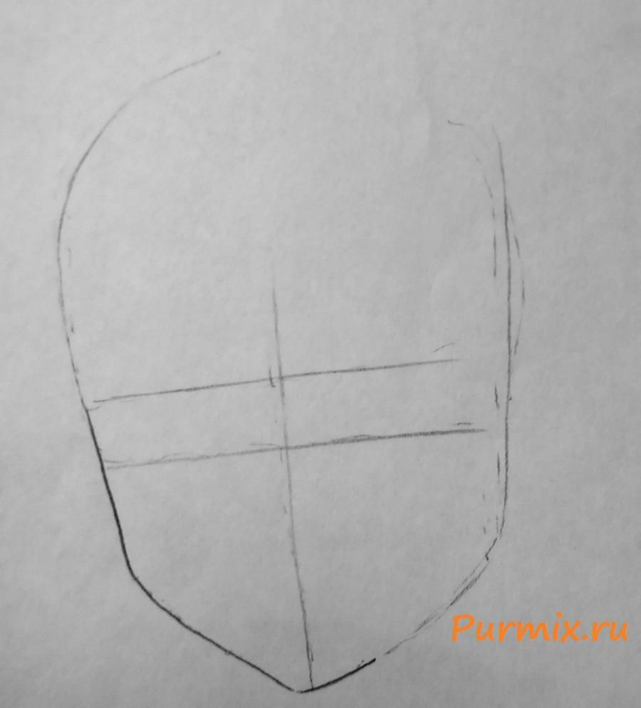 How to draw Satsuki Kiryuin from an anime Kill or die a pencil 2