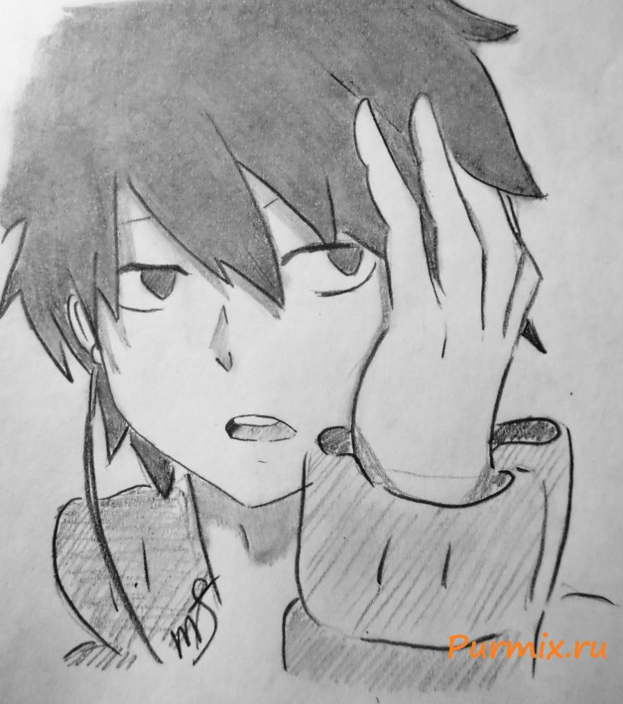 How to draw Shintaro Kisaragi from an anime the Illusive project