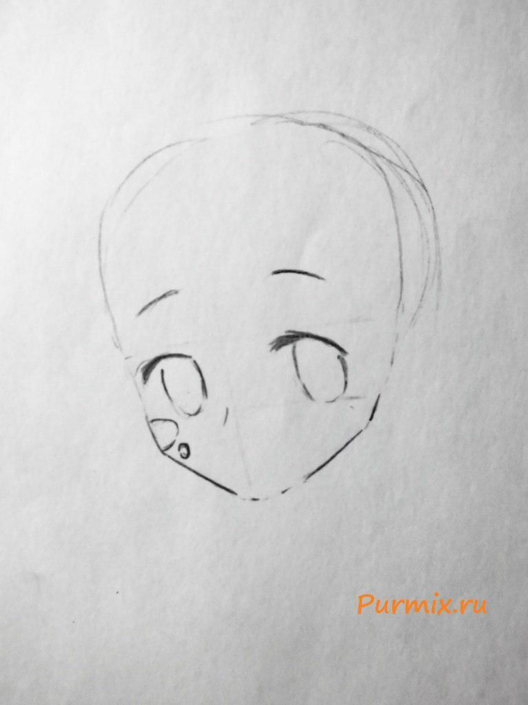 How to draw Ira Gamagori from an anime Kill or die 3
