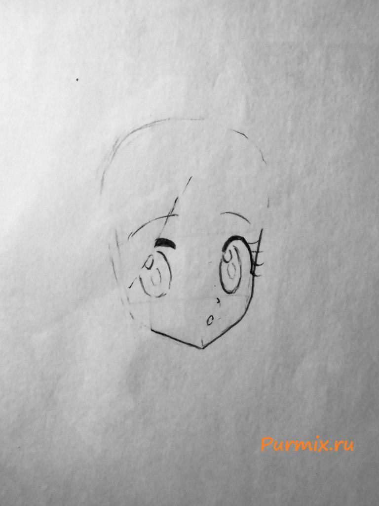 How to draw Nui Harime from an anime Kill or Die a pencil 3