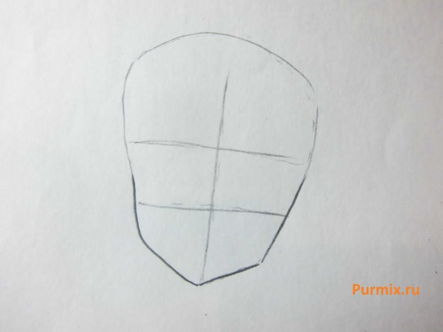 How to draw Midzuki from an anime It is very pleasant, God a pencil 2