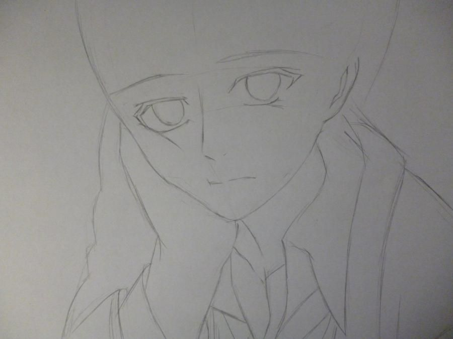 How to draw Mikage from an anime It is very pleasant, God a pencil 3
