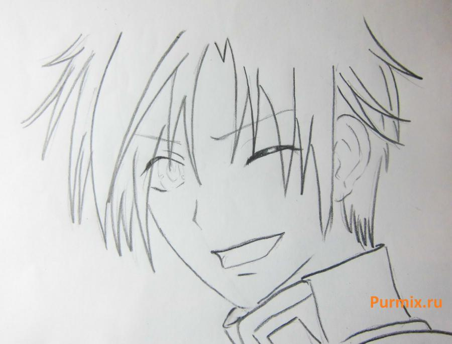 How to draw Marika Tachiban from an anime Feigned love 5