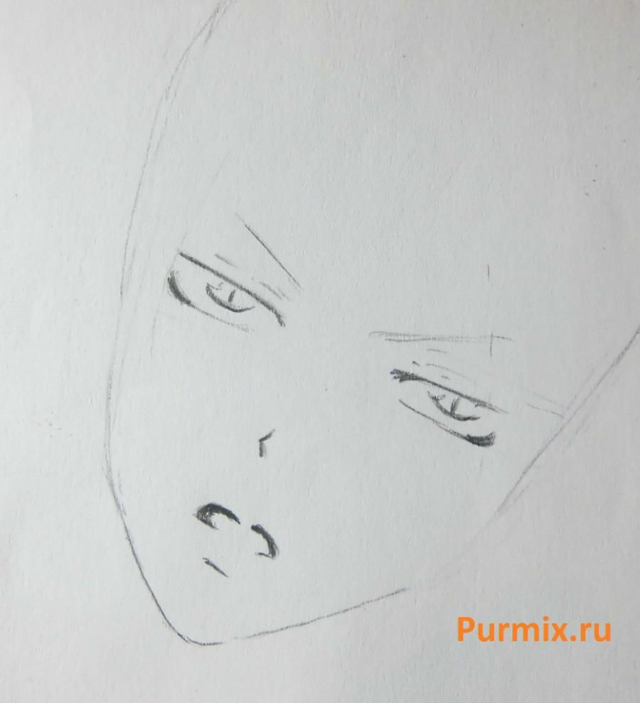 How to draw Kosaki Onoder from an anime Feigned love 3