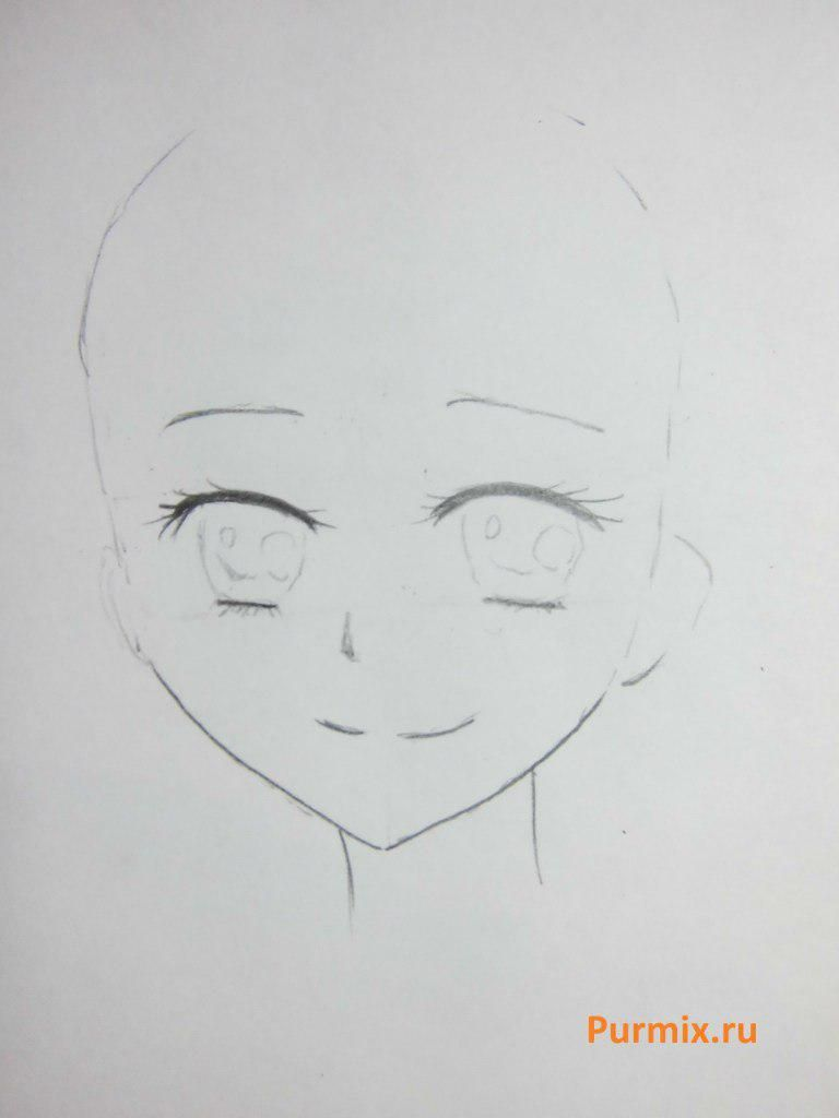 How to draw Sayaka Mikey from an anime the Magician Madoka Magika 3