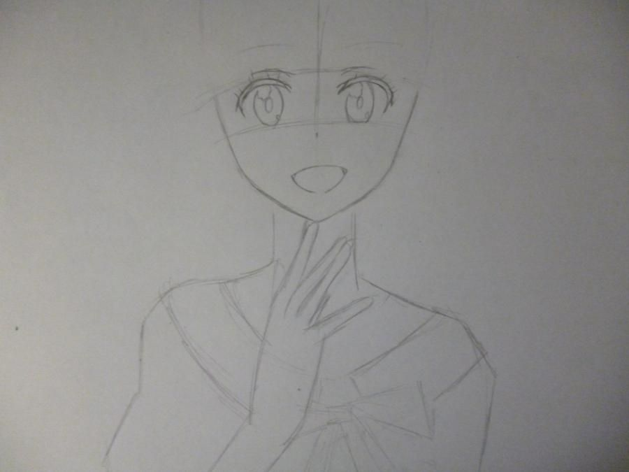 How to draw Chitoga Kirisaki from an anime Feigned love 3