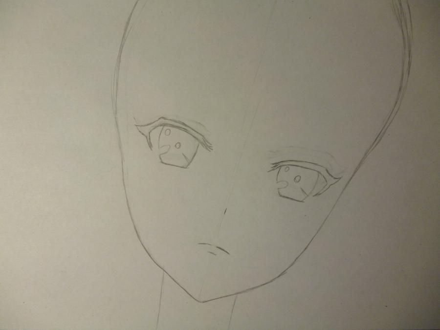 How to draw Mami Tomoe from an anime the Magician Madoka Magika 3